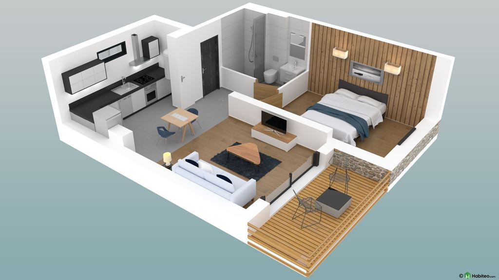 40.4 M2  2-ROOM NEW BUILD