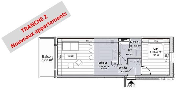 <p>Splendid 2 room 39.4 m2