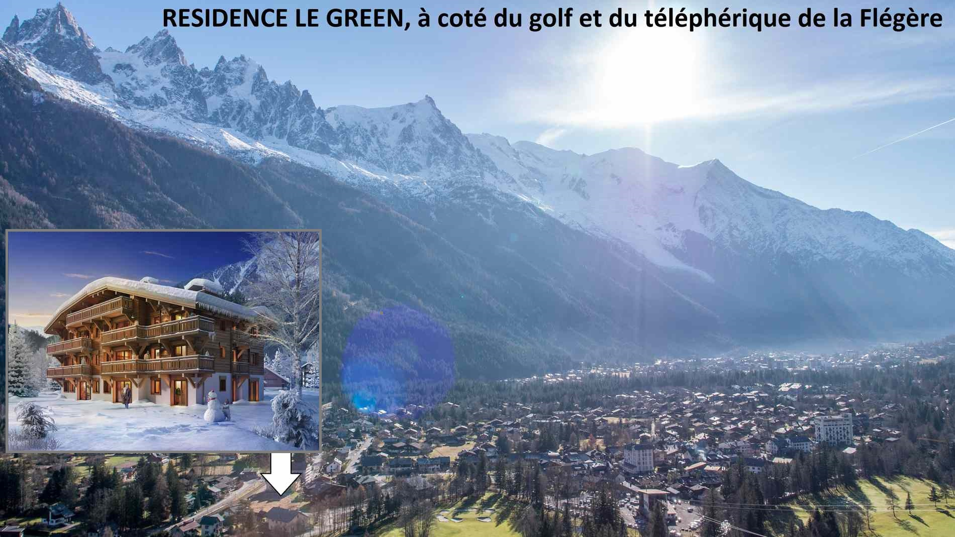 LE GREEN. 4 PIECES DE 108.46 M2